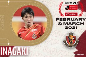 Top Players, Managers and Goals of February/March named as MEIJI YASUDA J.LEAGUE hands out monthly awards