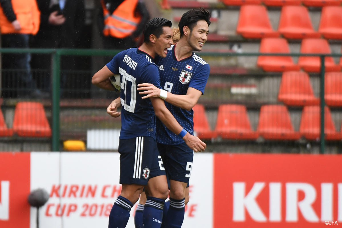 Ukraine defeat rotated Japan in friendly