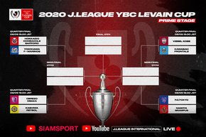 2020 J.LEAGUE YBC Levain CUP Prime Stage to be broadcasted overseas