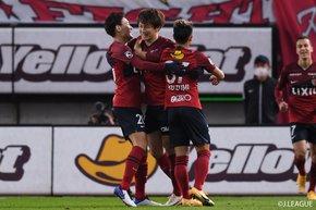Four-goal haul at the Kashima Soccer Stadium spring Kashima Antlers to fourth place, while Gamba Osaka share the spoils with Sagan Tosu