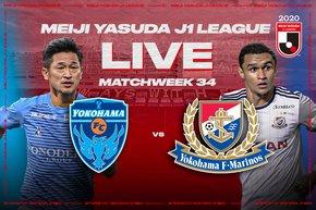 Yokohama FC vs Yokohama F・Marinos – Free Live Streaming on the J.League International YouTube Channel on December 19!