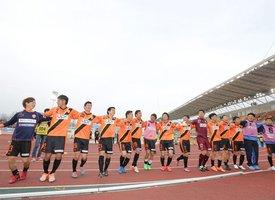 New entrant Renofa Yamaguchi kick off in MEIJI YASUDA J3 League