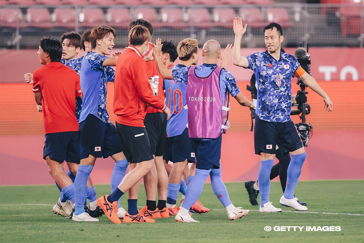 Japan triumph in penalties, advance to Tokyo 2020 men's football semi-finals