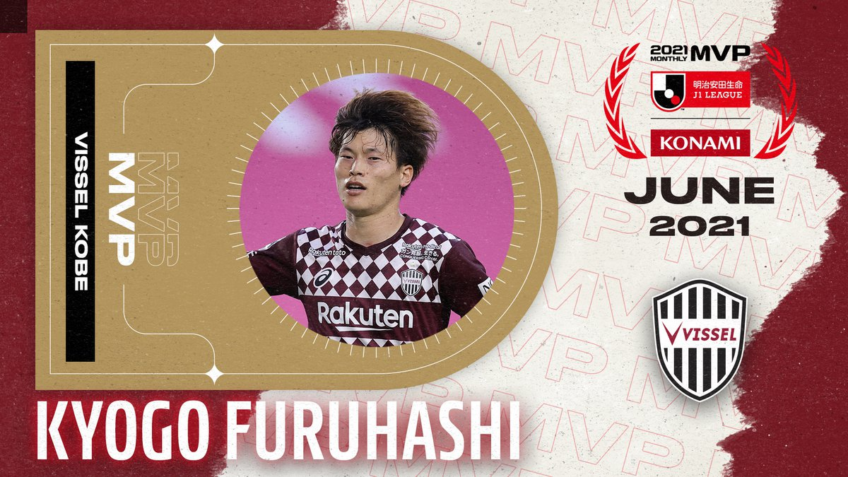 Furuhashi named Konami Monthly MVP for June as J.LEAGUE awards are announced